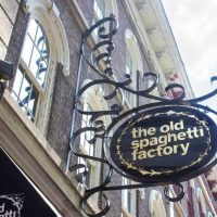 Old Spaghetti Factory sign by Modern Iron Concepts, Inc in Nashville